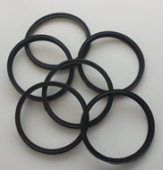 Rubber gasket to suit Air bleed to suit Alfa Visiflow and HCC150 claws