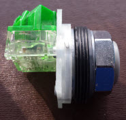Replacement push button for Alfa Laval ACRs
