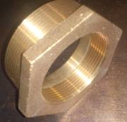2  1/2 x 2 1/4 BSP Brass reducing bush