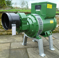 26kva single phase bolt down PTO Generator