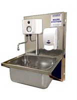 Stainless Steel Auto Hand Wash Station