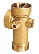 Brass 5 way connector