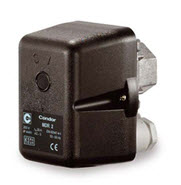 Pressure switch for wash down kits