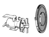 Skellerup / Flynn diaphragm milk pump diaphragm